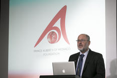 Exhibition opening - Professor Tim Flannery – a Board Member of the Albert II Foundation